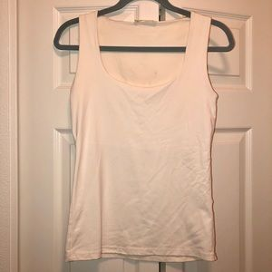 Zara wide strap stretch tank top